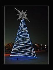 Feliz Natal unter Palmen
