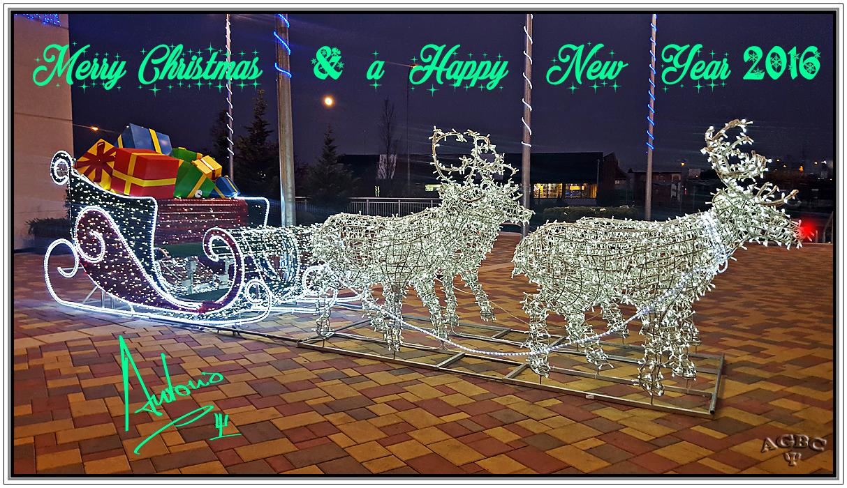 Feliz Navidad y Prospero Año Nuevo 2016!!!