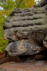 Fels auf kleinen Fuß...
