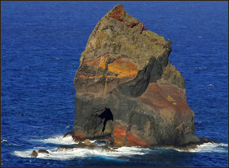 Fels mit Durchfluss !