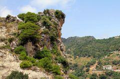Felsen in der Nähe von Casares