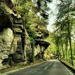 Felsen und Wald 3