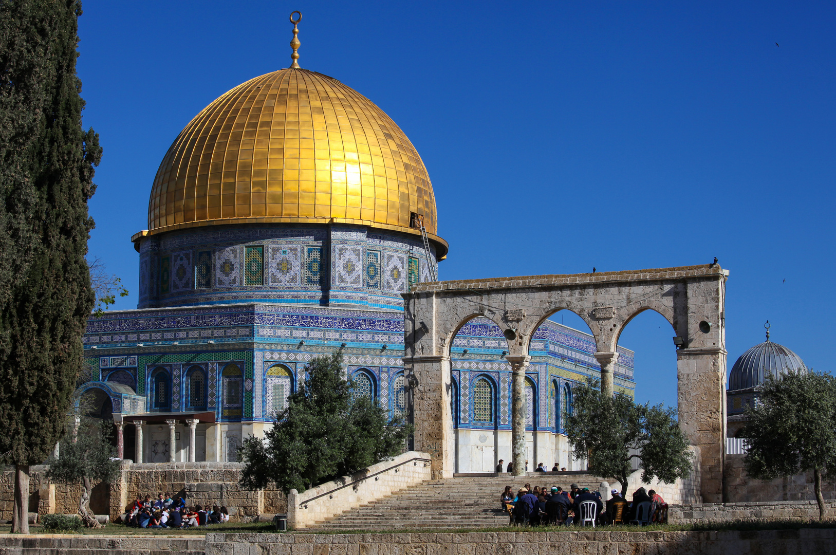 felsendom in jerusalem foto  u0026 bild