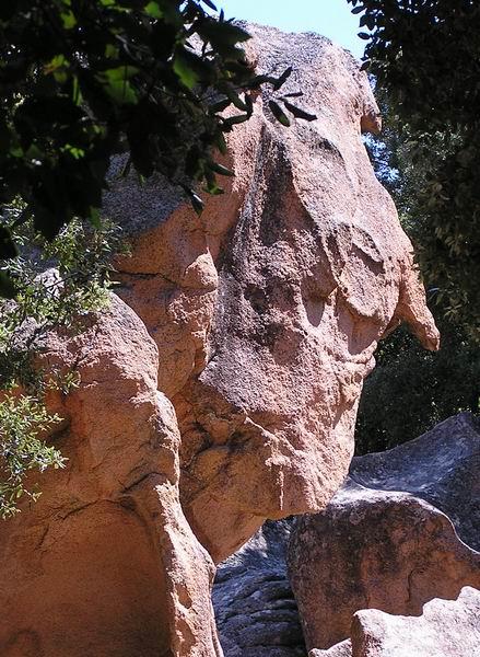 Felsenformation von Les Calanche