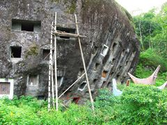 Felsengräber der Toraja