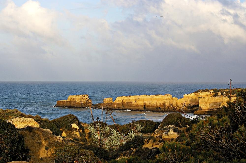 Felsenküste an der Algarve