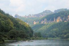 Felsenlandschaft in der Sächsischen Schweiz