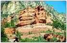 Felsformationen im Oak Creek Canyon - Arizona, USA