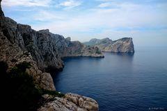 Felsgruppe am Cap Formentor Mallorca