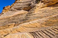 Felsstrukturen im Johnson Canyon, Kanab, Utah, USA