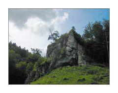 Felswand am Ankatal