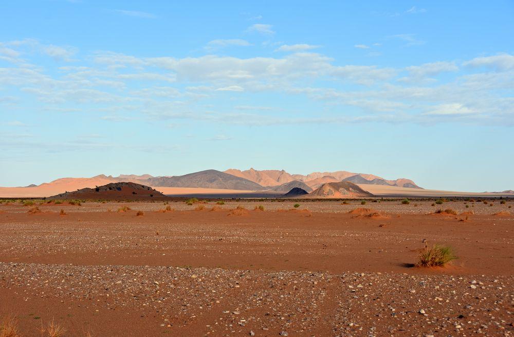 Felswüste bei Tafraout Hassi Fougani in Marokkos Süden
