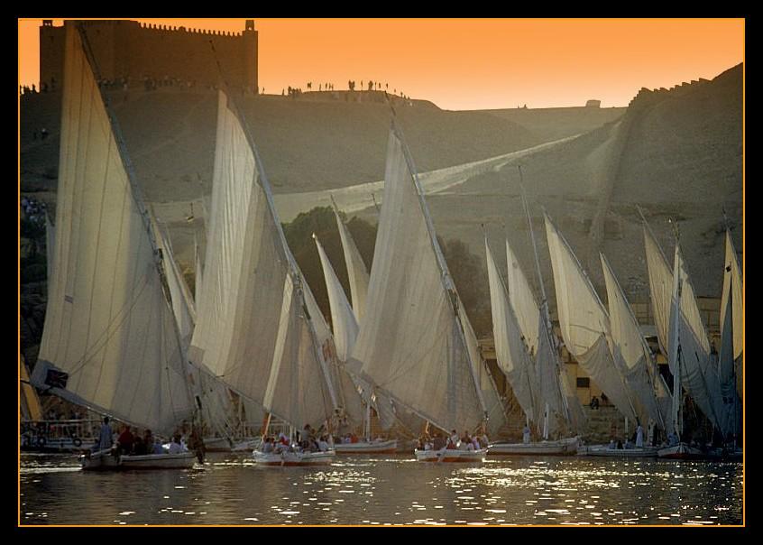 Feluche sul Nilo