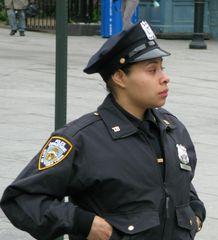 female cop in NYC