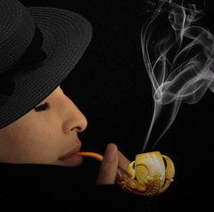 Feminine... smoke