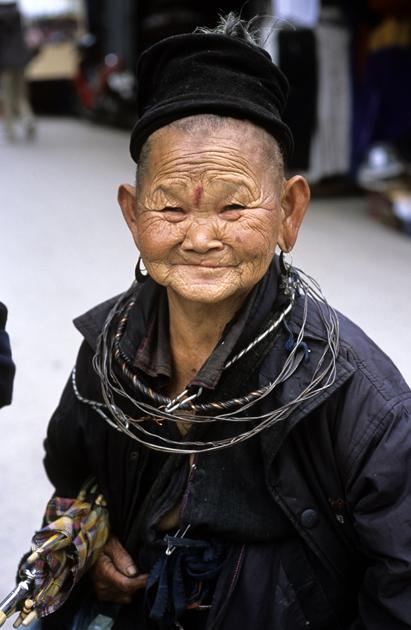 Femme H'mong de la région de SAPA