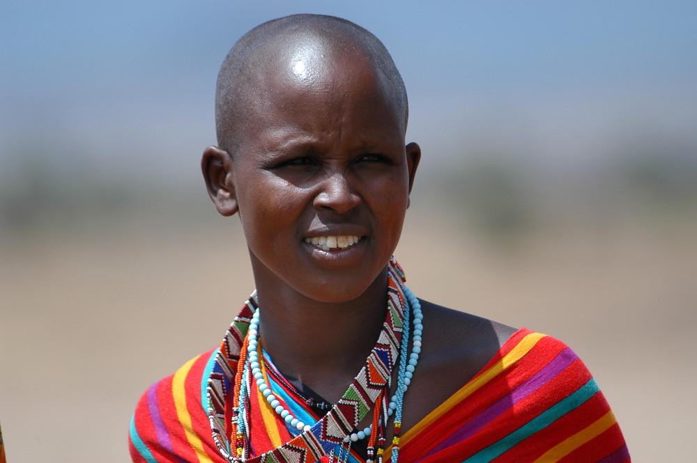 Femme Massaï (Kenya)