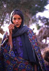 femme nomade touareg