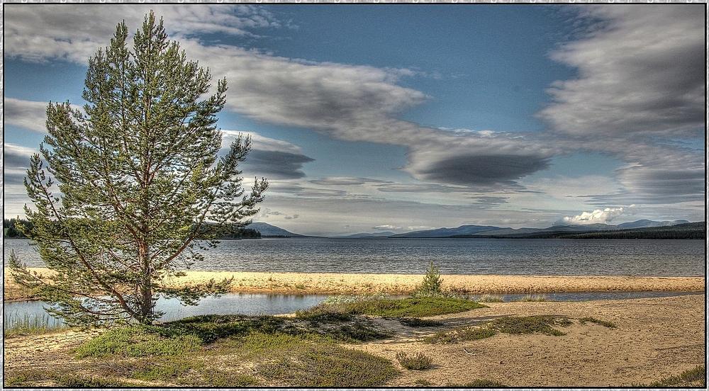 Femundsenden am gleichnamigen See : Norwegenreise 2013 ( HDR )