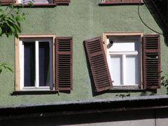 Fenster, abgestürzt...