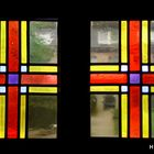 Fenster an der Einganstür zum Jugend-Kloster, Kirchhellen