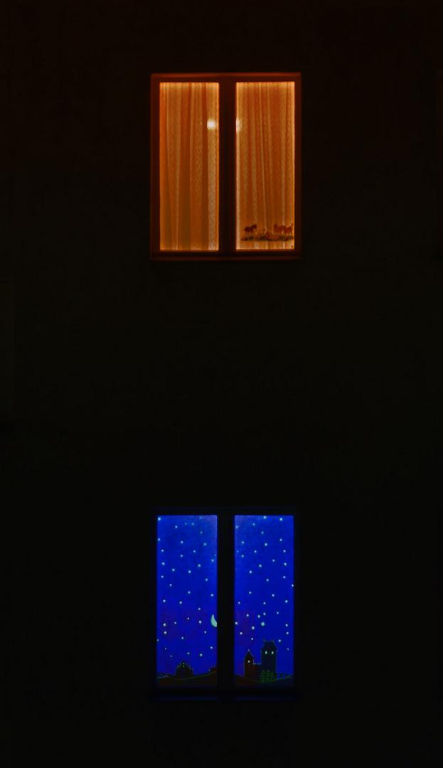 fenster bei nacht foto bild alltagsdesign anderes motive bilder auf fotocommunity. Black Bedroom Furniture Sets. Home Design Ideas