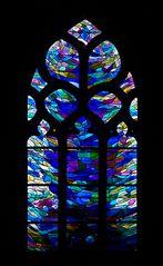 Fenster der Chapelle Notre Dame de la Bonne Nouvelle - Locronan