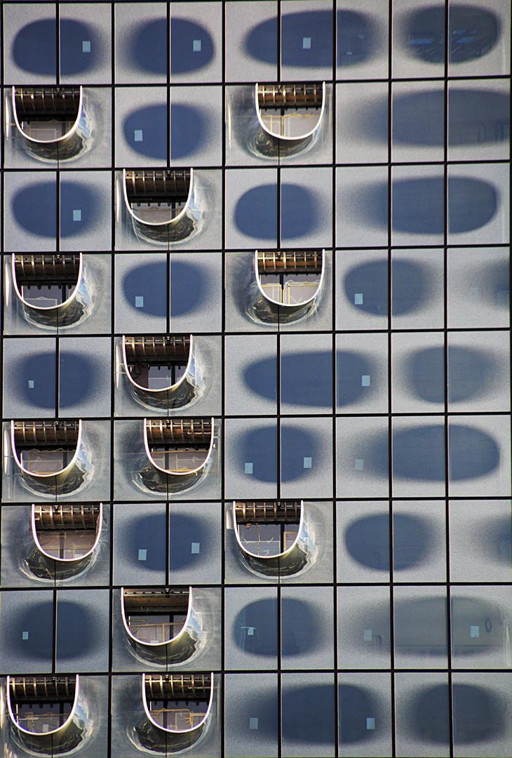 Fenster der Elbphilharmonie