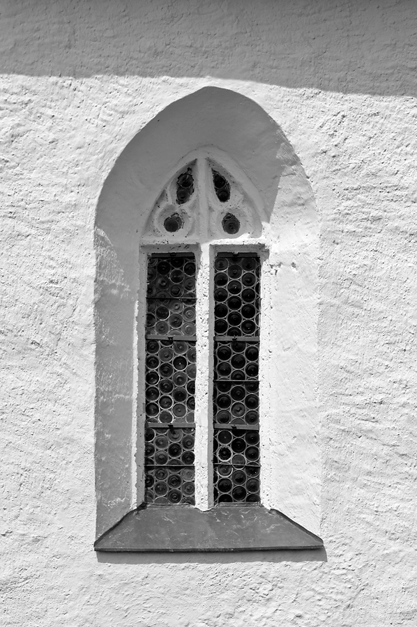Fenster der Kapelle auf dem Hemmaberg (Kärnten)