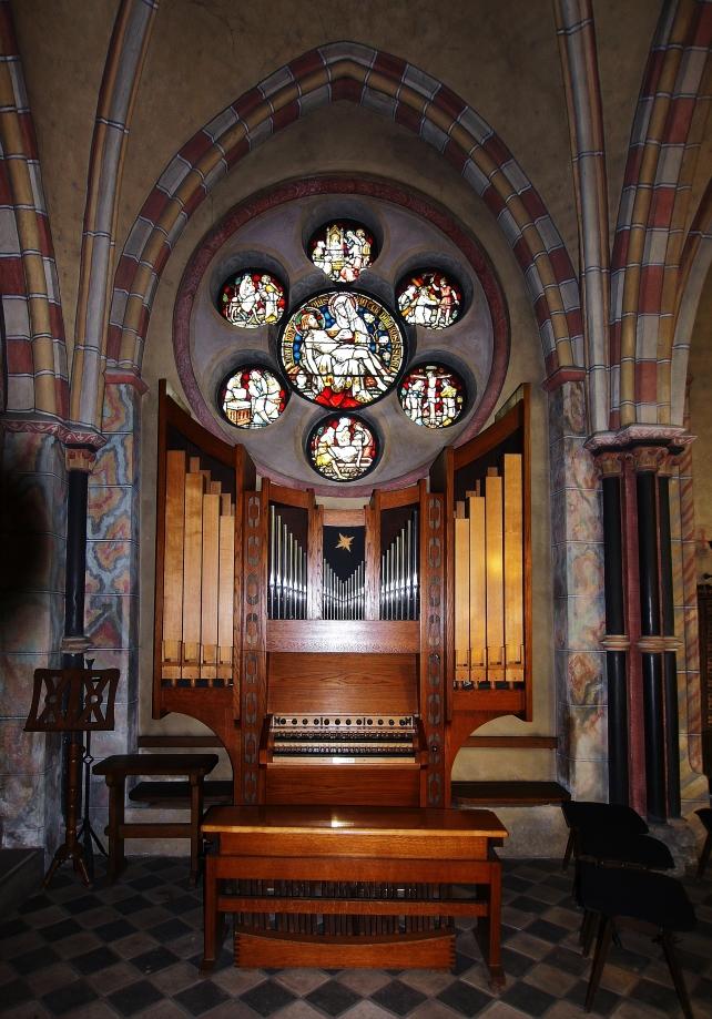 Fenster der Markuskapelle ...