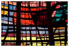 Fenster-Detail der Taufkapelle