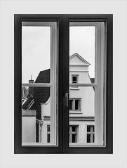 Fenster: Grenze zwischen drinnen und draußen
