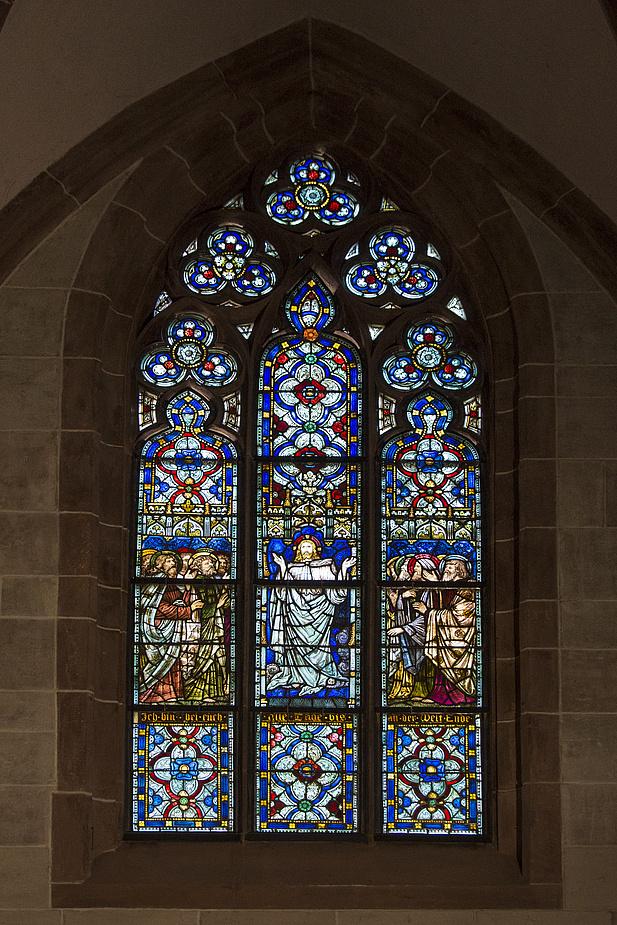 Fenster im Basler Münster