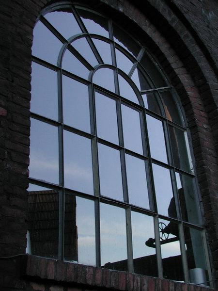 Fenster im Landschaftspark Duisburg