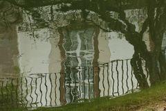 Fenster im Teich