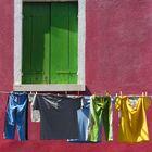 Fenster in Burano
