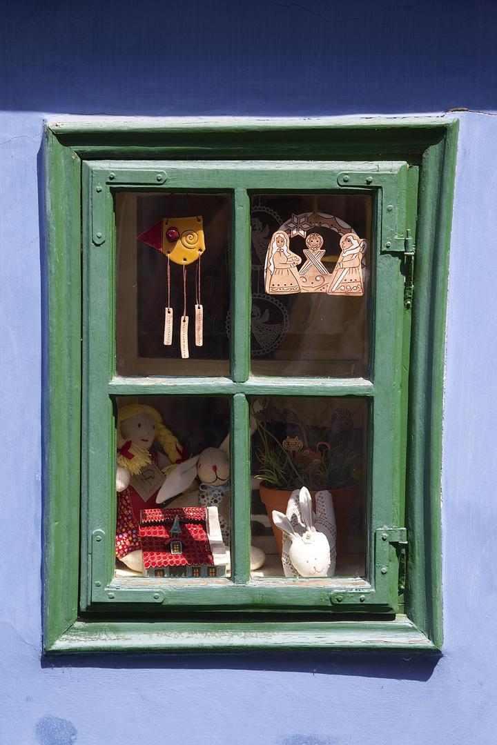 Fenster in der Altstadt Prags