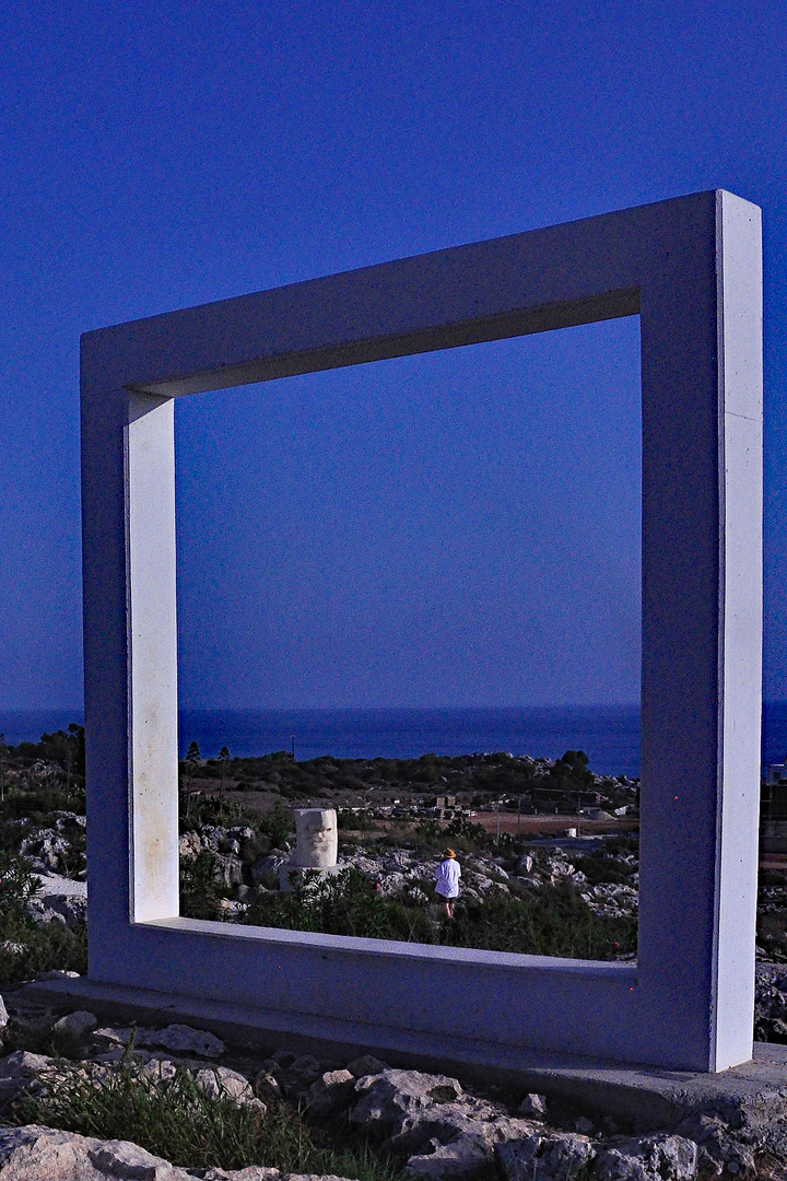 Fenster in der Landschaft