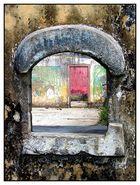 Fenster in der Roça Ribeira Peixe - São Tomé e Príncipe