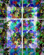 Fenster in di Welt der Phantasie