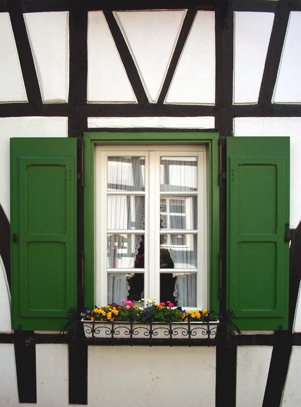 Beliebt Fenster in einem Fachwerkhaus Foto & Bild | architektur KA06