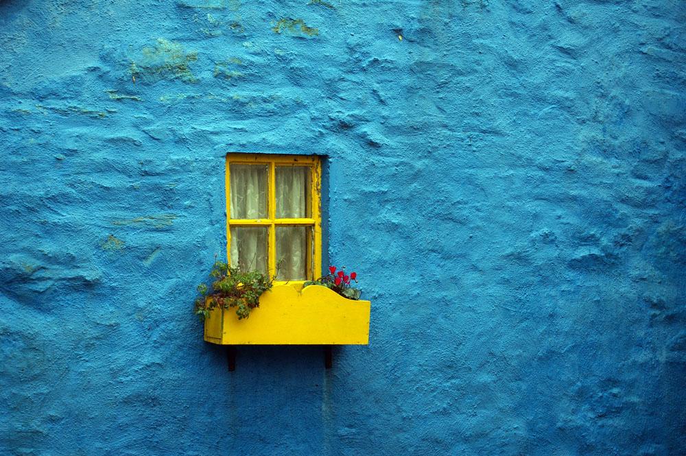 Fenster in Kinsale, IE
