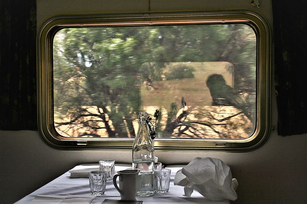 Fenster Speisewagen Austr A-35col