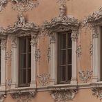 Fenster vom Falkenhaus Würzburg