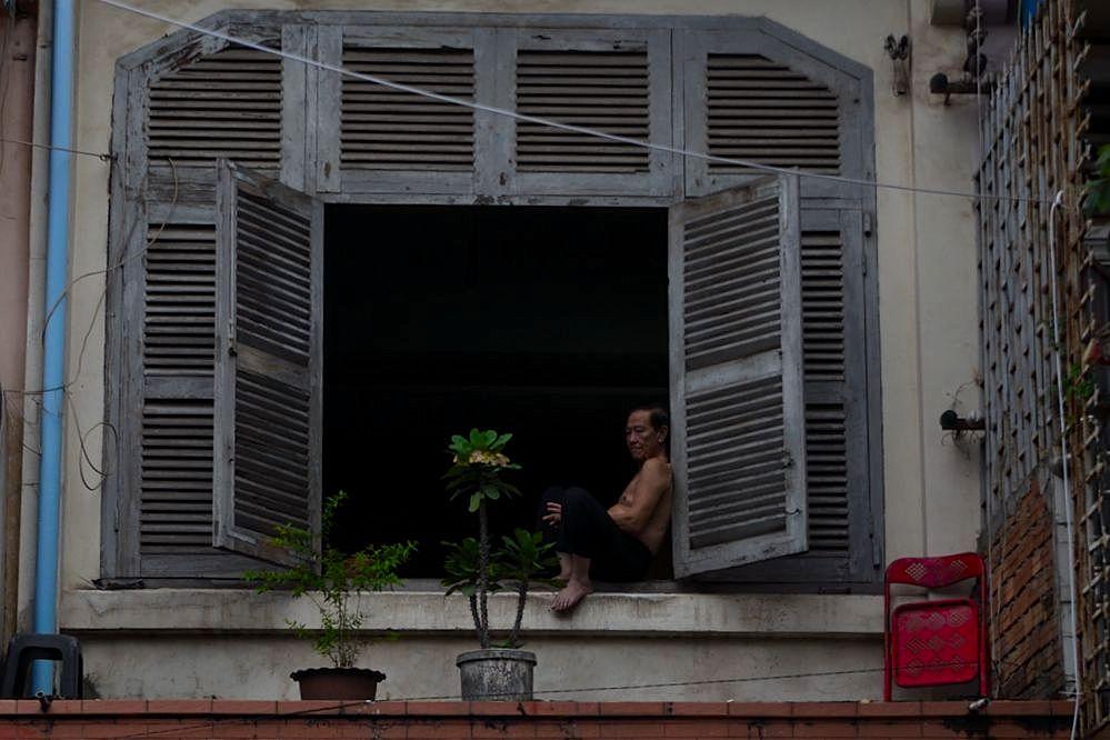 Fenster zur Straße