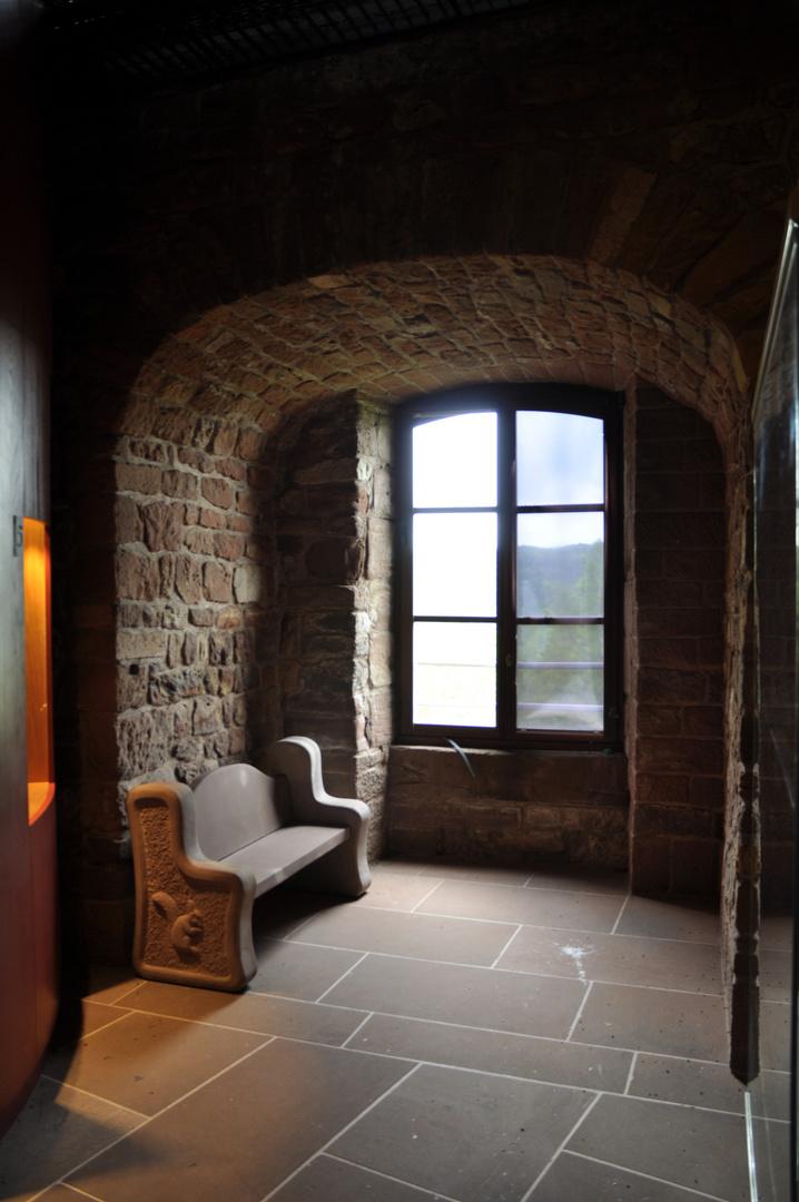 Fensterbank - die Bank am Fenster
