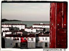 Fensterblick auf Port Grimud