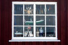 Fensterdeko im Fischerhaus
