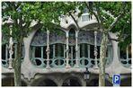 Fensterfront des Casa Batlló