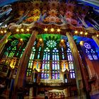 Fensterfront Sagrada Familia